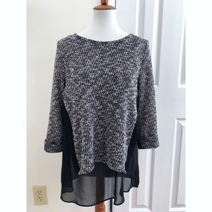 Bar lll oversized sweater